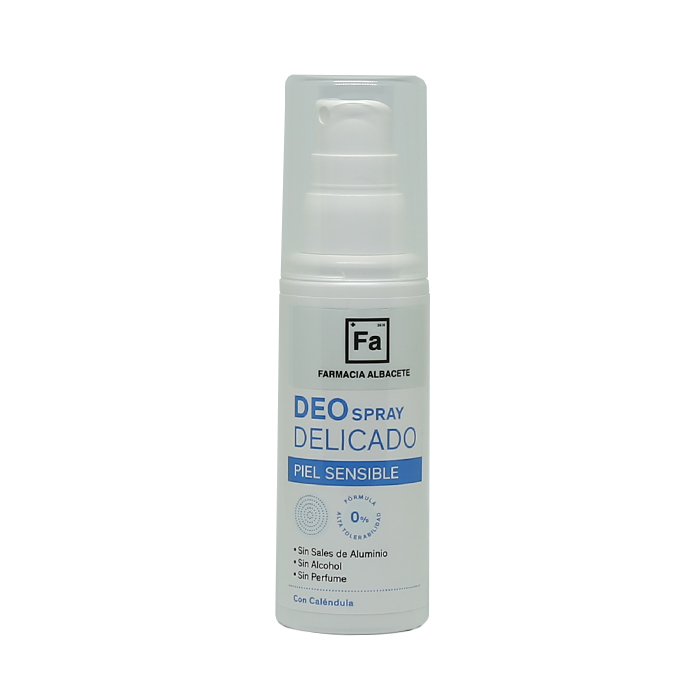 DESODORANTE DEO SPRAY PIEL SENSIBLE ANTITRANSPIRANTE Frasco Spray 100ml