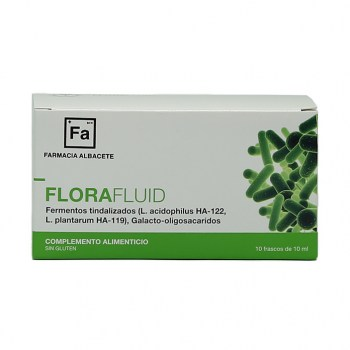 FLORAFLUID 10 frascos 10ml