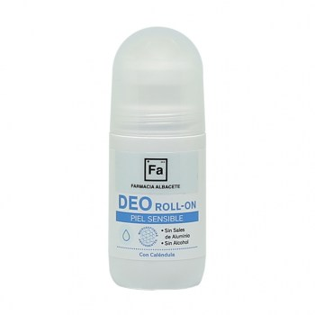 DESODORANTE DEO ROLL-ON PIEL SENSIBLE ANTITRANSPIRANTE. Frasco Roll-n 50 ml